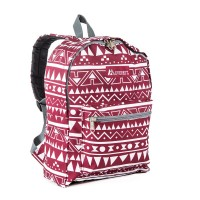 Basic Pattern Backpack