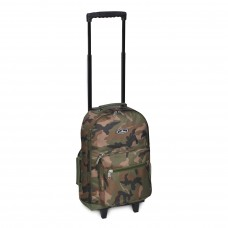 Woodland Camo Wheeled Backpack