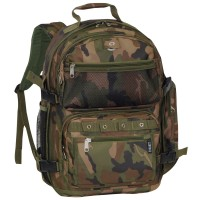 Oversize Woodland Camo Backpack