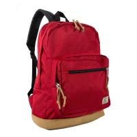 Suede Bottom Daypack w/ Laptop Pocket