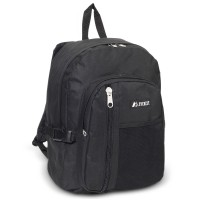 Backpack w/ Front Mesh Pocket